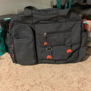 ⭐️🧡 Eddie Bauer Bag Diaper Bag Neutral 🧡⭐️